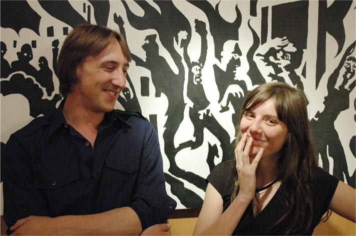 Carole Sionnet et PieR Gajewski
